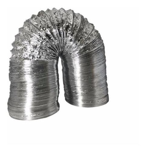 Imagem 1 de 2 de Duto Flexível De Alumínio 40cm Exaustão - 5 Metros