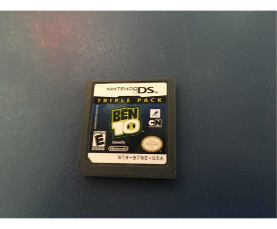 Ben 10 Triple Pack Nintendo Ds Original - 3 Jogos Ben 10