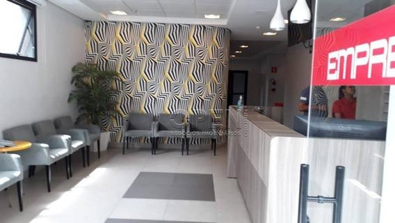 Sala Comercial Para Venda E Locação, Vila Guiomar, Santo André. - Sa0526