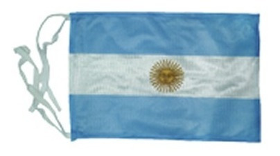 Bandera Argentina Con Sol 30x60 Cm (no Envios)