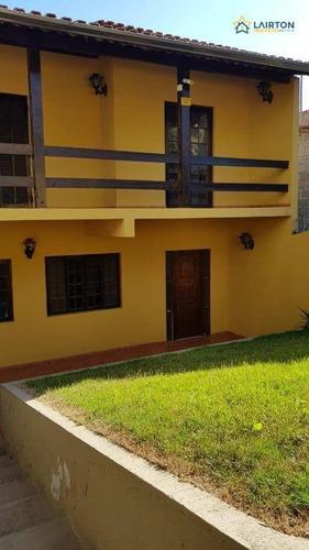 Imagem 1 de 14 de Casa Com 3 Dormitórios À Venda, 358 M² Por R$ 500.000,00 - Três Pistas - Atibaia/sp - Ca2393