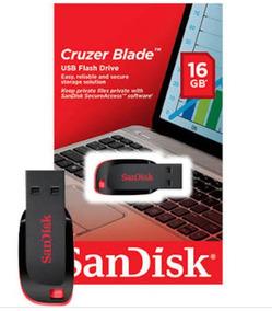 Pen Drive Sandisk 16 Gb Kit 10un Promoção