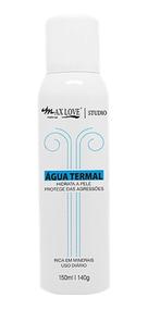 Agua Termal 150 Ml Maquiagem Kit 3 Unid Max Love
