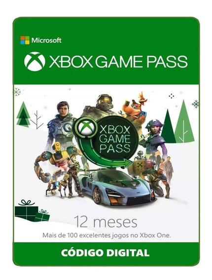 Xbox Game Pass 1 Ano Assinatura 12 Meses Revenda Autorizada