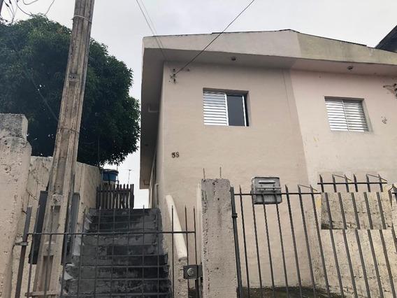 Casa Com 1 Dormitório Para Alugar, 75 M² Por R$ 1.100,00/mês - Vila São Luiz (valparaízo) - Barueri/sp - Ca0234