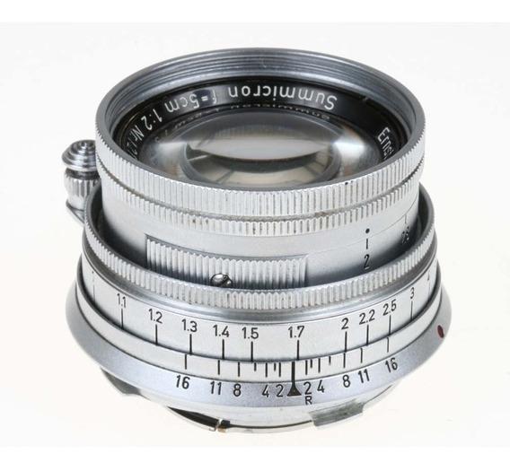 Objetiva Leica Summicron-m 50mm F2 Gmbh Wetzlar