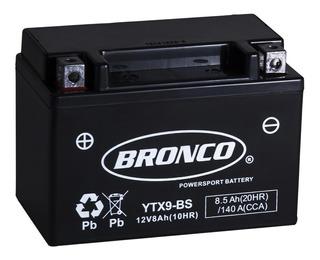 Bateria Moto Ytx9-bs Gel Motoscba