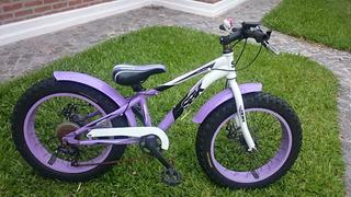 Bicicleta Fat R20 Sbk Lila