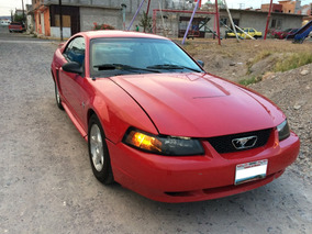 Ford Mustang, V6, Coupe, Rojo,deportivo