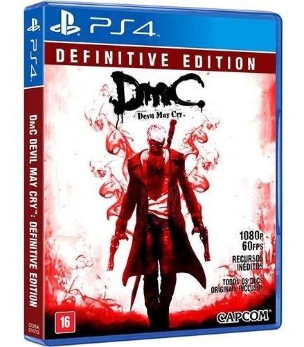 Jogo - Dmc Devil May Cry:definitive Edition Ps4 Mídia Física