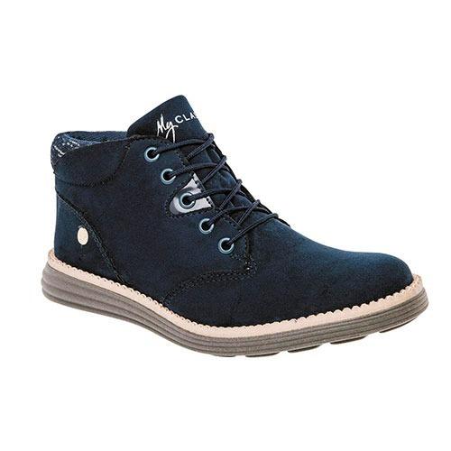 Zapato De Dama Casual Clasben 160631 Mn -22-26 Sin Medio