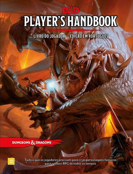 Livro Do Jogador Rpg 5.0 Dungeons & Dragons Português