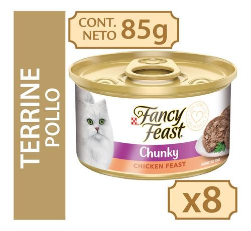 Alimento Húmedo Para Gato Fancy Feast® Terrine Con Pollo 85g