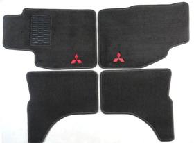 Tapete Carpete Luxo Mitsubishi L200 Sport - 2001 A 2016