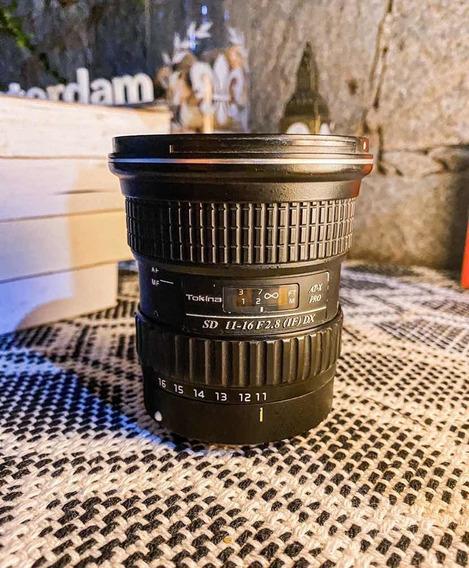 Tokina 11-16mm F/ 2.8 (p/cânon)