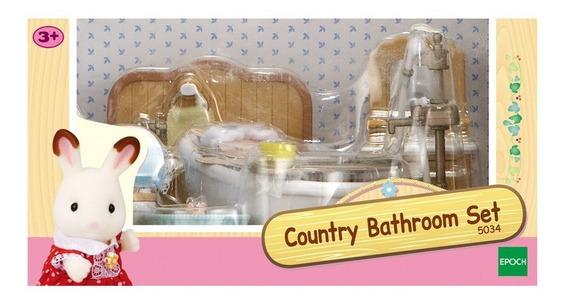 Sylvanian Families - Country Bathroom Set (5034)