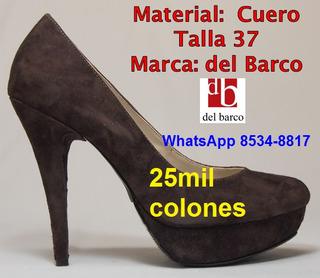 Del Barco Tacones Mujer (zapato Plataforma Botines Mocasines