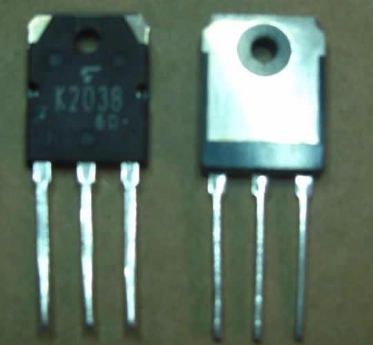2sk2038 K2038 Kit 2 Peças Original Toshiba Envio Imediato