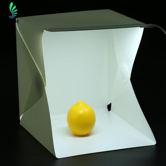 Mini Stúdio Portátil Caixa Com Led