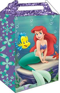 20 Caixa Maleta Surpresa - Ariel Com Nome Em 3d