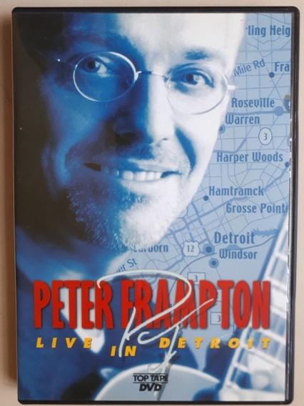 Dvd Peter Frampton Live In Detroit - Original - Estado Novo