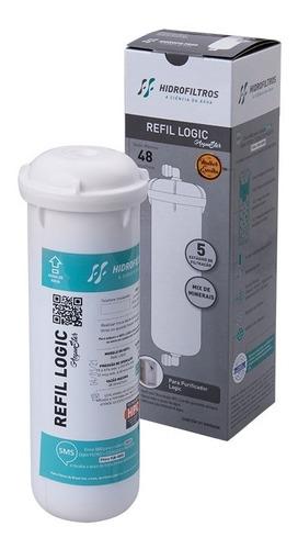 Refil Filtro Purificador Hidrofiltros Acquastar Digit Logic Pentair Carvão Ativado Original