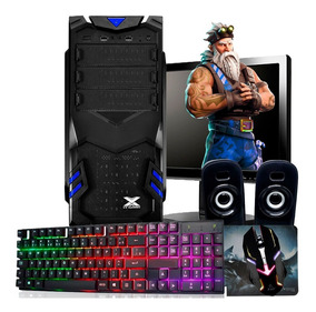 Pc Gamer Completo Barato / Hd 500gb/ Geforce/ Jogos/ Tela 19