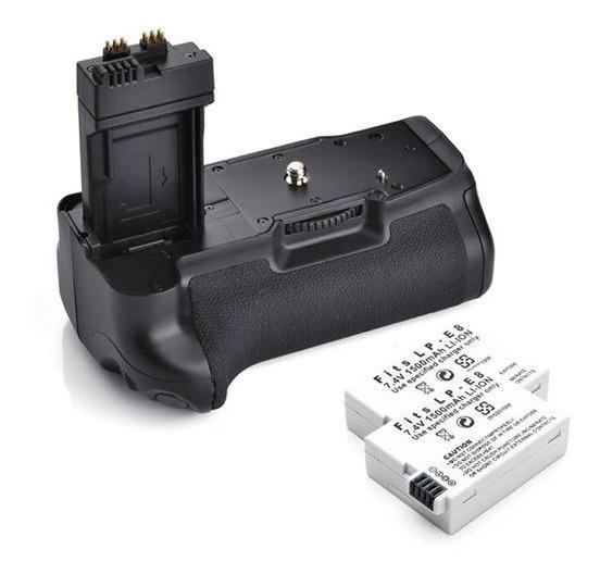 Baterry Grip P/ Canon T5i T4i T3i T2i + 2 Baterias Lp-e8