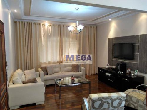 Casa Com 4 Dormitórios À Venda, 150 M² Por R$ 480.000,00 - Parque Via Norte - Campinas/sp - Ca2336