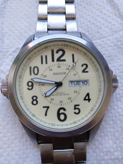 Relógio Magnum Water 100m Resist Dataday