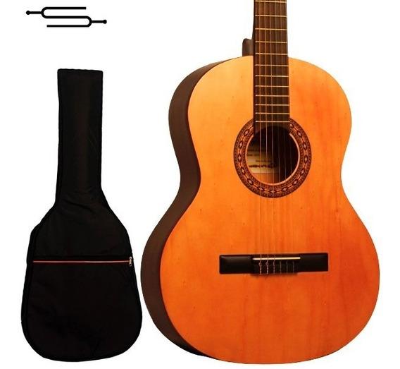Guitarra Criolla Gracia M1 Clasica De Estudio + Funda