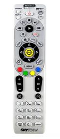 Controle Remoto Sky Hdtv Hd Plus C/ Chave Av Original