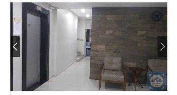 Kitnet Com 1 Dormitório À Venda, 35 M² Por R$ 147.000 - Centro - São Vicente/sp - Kn0514