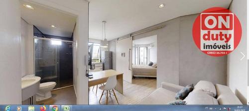 Studio Com 1 Dormitório À Venda, 37 M² Por R$ 512.000,00 - Vila Nova Conceição - São Paulo/sp - St0061