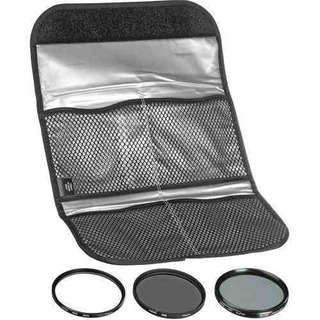 Hoya 46mm 3 Digital Slim Filter Set Ii (hmc Uv / Circular Po
