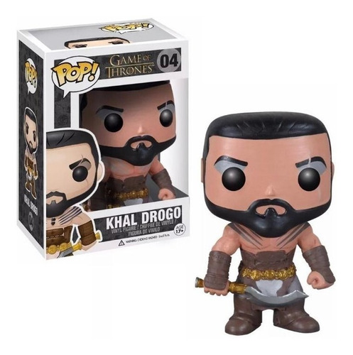 Figura Funko Pop Games Of Thrones - Khal Drogo 04