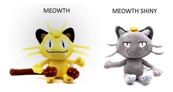 Pelúcia Turma Pokémon Meowth (18 Cm) - Importada