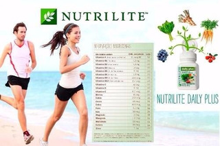 Vitamina Complemento Daily Plus 30 - Amway - Nutrilite