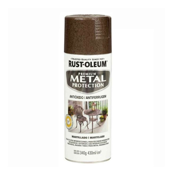 Pintura Anticorrosiva En Aerosol Texturada Rust Oleum - Pres