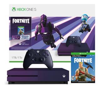 Consola Xbox One S Microsoft 1 Tb Fortnite Battle Royale Edi