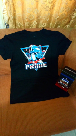Playera Transformers Geekfuel Exclusive Optimus Prime Nueva