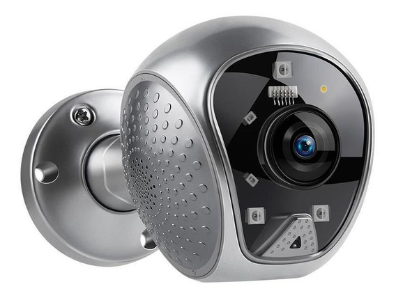 Câmera Segurança Alarme Sonoro Externa Hd 2 Mp 1080p 19q