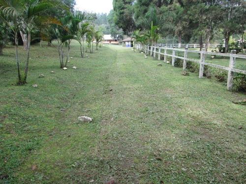 Imagem 1 de 14 de Belissimo Sitio Com Lindo Riacho E Lago,  Plano