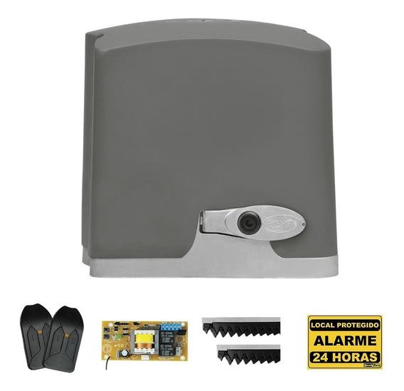 Kit Motor De Portão Eletrônico Deslizante Ppa 1/4 Hp Rápido