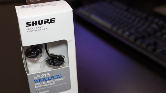 Shure Se215 Wireless Bt1 - Bluetooth