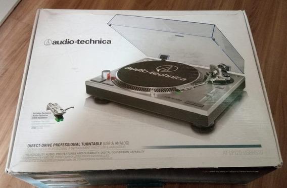 Toca Discos Audio-technica At-lp 120 Usb Lp120 Novíssima...