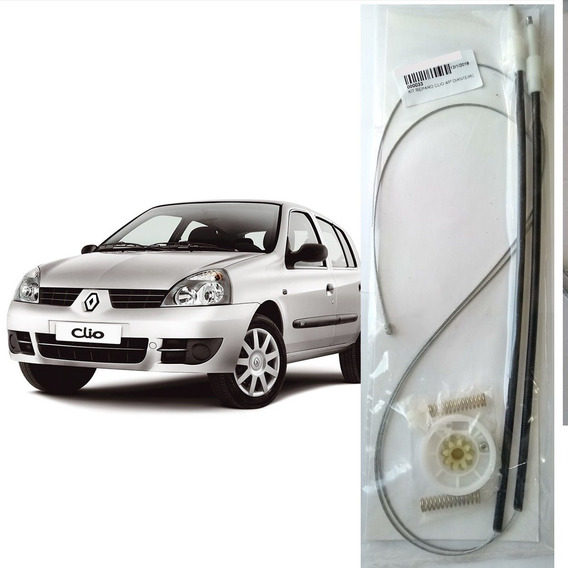 Reparo Maquina De Vidro Dianteira Eletrico Clio 4 Portas