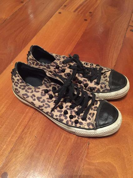 converse leopardo mujer