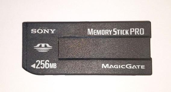 Memory Stick Pro Magic Gate 256mb Novo ( 4 Und.)