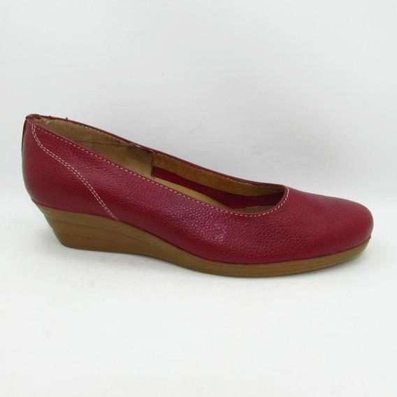 Zapato Julio De Mucha 29214 Piel Luxory 14-16 Escarlata
